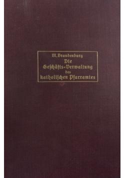 Die Gelchaftsbermaltung, 1911r.
