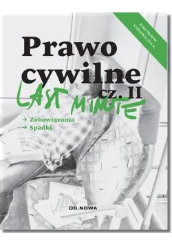 Last minute Prawo cywilne Część 2