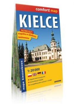 Comfort!map Kielce 1:20 000 midi plan miasta