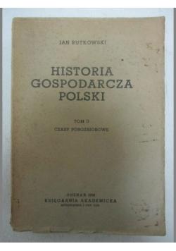 Historia gospodarcza Polski, tom II
