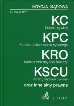 KC KPC KRO KSCU Edycja sądowa