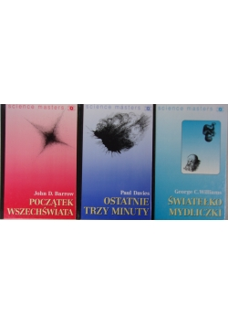 Since Masters, zestaw 3 książek