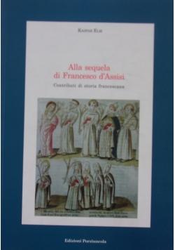 Alla sequela di Francesco d'Assisi