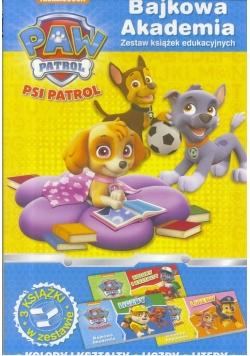 Bajkowa Akademia. Psi Patrol cz.2 (3 książki)