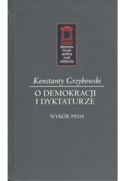 O demokracji i dyktaturze