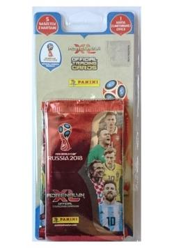 Adrenalyn XL FIFA WORLD CUP 2018 Russia 5 saszetek z kartami