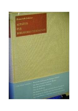 Aufsatze zur Biblischen Theologie