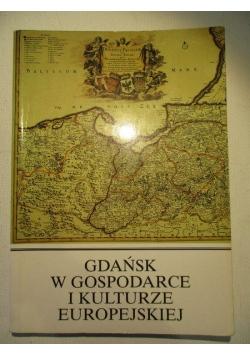 Gdańsk w gospodarce i kulturze europejskiej