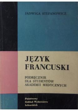 Język francuski, podręcznik dla studentów akademii medycznych
