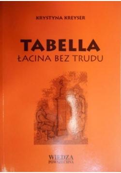 Tabella łacina bez trudu