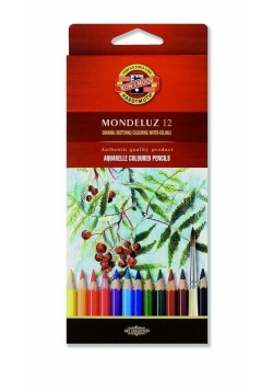 Kredki Mondeluz 12 kolorów