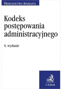 Kodeks postępowania administracyjnego w.6
