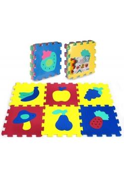 Puzzle piankowe 6 elementów Owoce
