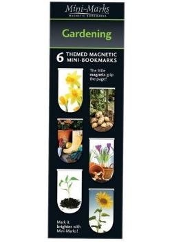 Zakładki magnetyczne Gardening 6 sztuk