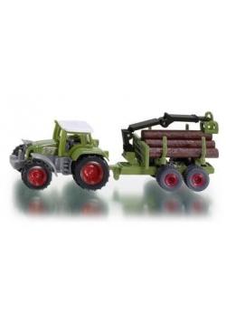 Siku 16 - Traktor z leśną przyczepą S1645