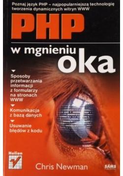 PHP w mgnieniu oka