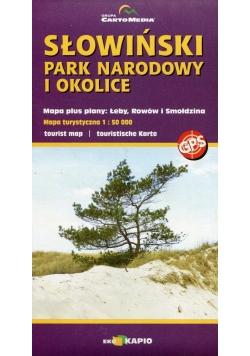 Słowiński Park Narodowy mapa turystyczna 1:50 000