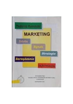 Marketing. Istota, zarządzanie, rynek, strategie, informacja