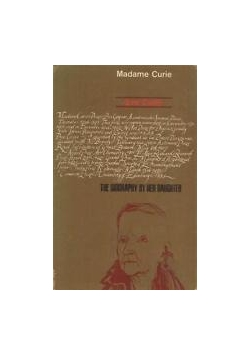 Madame Curie By Eve Curie