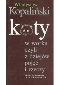 Koty w worku z dziejów pojęć i rzeczy