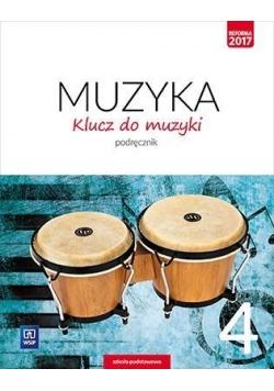 Muzyka SP 4 Klucz do muzyki Podr. WSiP