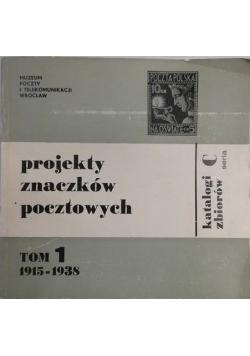 Projekty znaczków pocztowych 1915-1938
