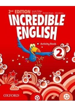 Incredible English  2E 2 WB OXFORD