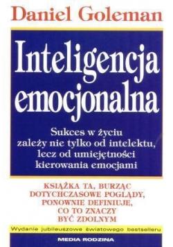 Inteligencja emocjonalna - Daniel Goleman w. jub.