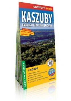 Comfort!map Kaszuby Kaszubski Park Krajob mapa