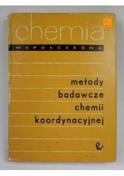 Metody badawcze chemii koordynacyjnej