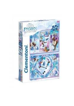 Puzzle SuperColor Olaf's Frozen Adventure 2x20