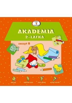Akademia 2-latka. Zeszyt B