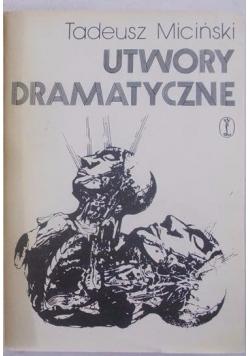 Utwory dramatyczne, tom 4