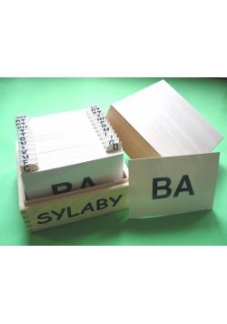 Sylaby - karty logopedyczne ARSON