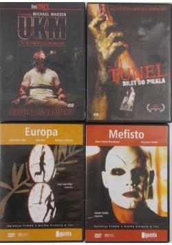 Gazeta Wyborcza, zestaw 4 Płyt DVD