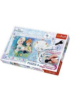 Puzzle 70 plus - Urodziny Anny TREFL