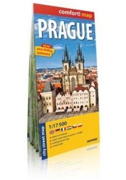 Comfort!map Praga 1:17 500 plan miasta w.2018