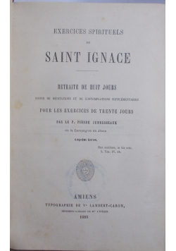 Saint Ignace, 1889 r.