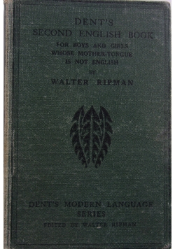 Dent's second english book, 1933 r.