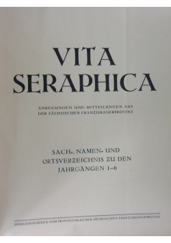 Vita Seraphica
