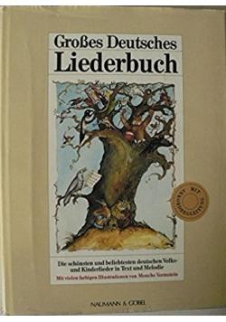 Grobes Deutsches liederbuch
