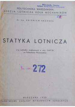 Statyka lotnicza, 1950 r.