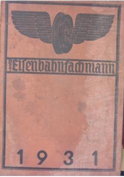 Der Eisenbahnfachmann 1931,  1931r.