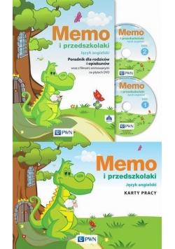 Memo i przedszkolaki. Pakiet PWN