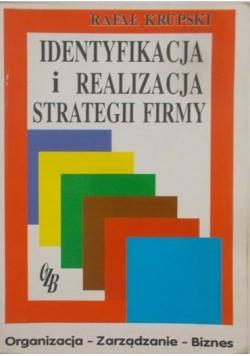 Identyfikacja i realizacja strategii firmy