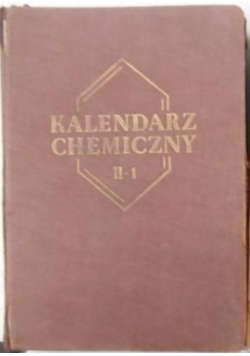 Kalendarz chemiczny II-1