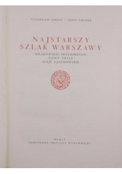 Najstarszy szlak Warszawy