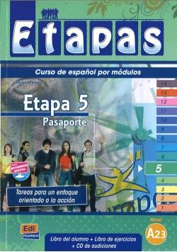 Etapas 5 Podręcznik + ćwiczenia + CD