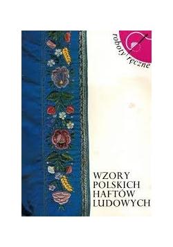 Wzory polskich haftów ludowych roboty ręczne