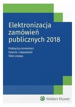 Elektronizacja zamówień publicznych 2018